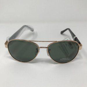Fossil Women's Green Aviator Sunglasses NWT